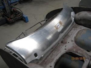 Lower rear shroud
