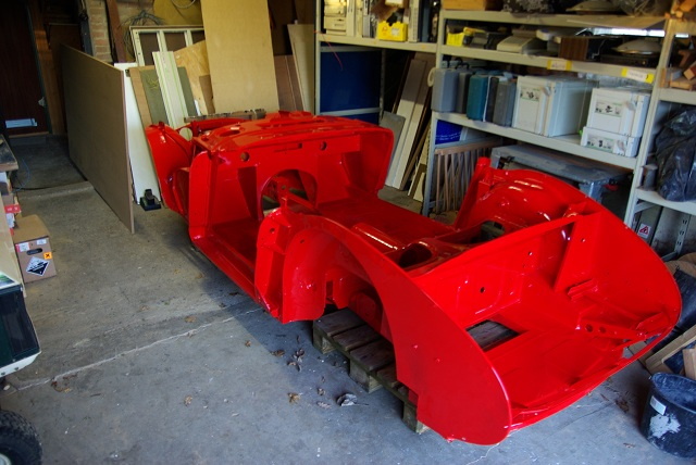 Painted chassis